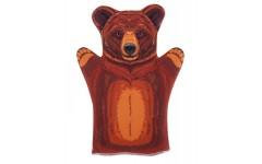 Десятое кор..  Домашний кукольный театр 03655 Кукла-перчатка Медведь